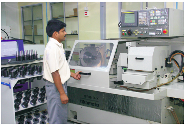 CNC Grinding Section